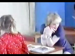 Horny teen students fucking in classroom tube porn video