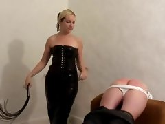 A well whipped bum tube porn video
