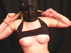 Blindfolded, Anal, Babe, BDSM, Blindfolded, Bondage
