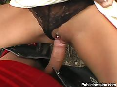 A Public Blojwob From Slutty Angelina