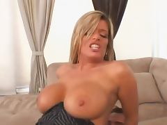 Big titted sexy cougar having sex