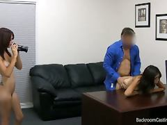 Audition, Amateur, Audition, Babe, Brunette, Casting