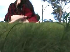 Aussie hairy hippies make love outdoors tube porn video