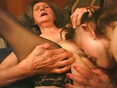 Amazing mature grannies foursome