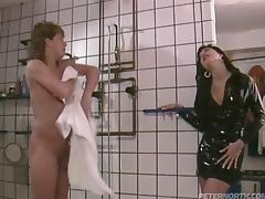 Chick Getting Fucked In The Men's Room