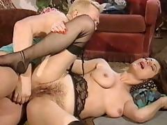 Anal, Anal, Brunette, Hairy, Stockings