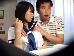 Japanese schoolgirl Yuuki Maeda gets unforgettably fucked in her room