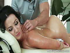All, Big Tits, Boobs, Massage, Nasty, Oil