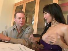 Slutty Diana Prince fucks her best friend's husband tube porn video