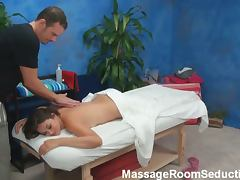 Allie haze's gorgeous massage session