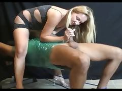 Femdom Handjob By Karinne 2 Wrapped Up and Tied Down