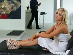 Tasha reign is a lonely housewife tube porn video