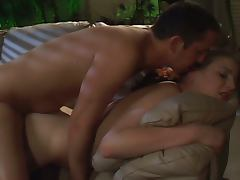 Pretty house sitter turns into a horny slut