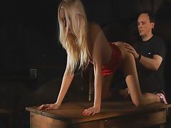 Erica Fontes fucked in the BDSM game porn tube video