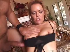Hot Sex With A Very Horny Blonde Milf