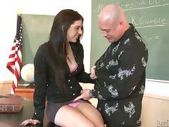 Bewitching Kodi Gamble having wild sex in school