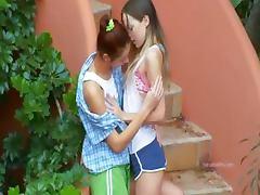 Romantic lesbo adventure from poland