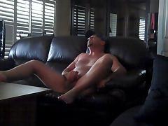 Wanking to retro porn