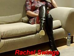 Boots, Boots, Latex, Masturbation, Mature, Mature Amateur