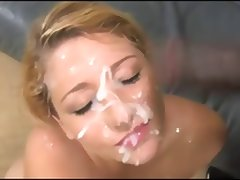 Jessie Stone's Double Facial HUGE