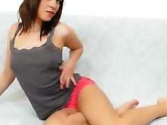 Leony Aprill filthy nylon fetish