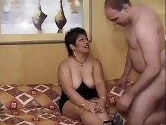 Fat Housewife Threesome Fucks