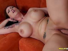 Busty babe ashton pierce big cock fucking tube porn video