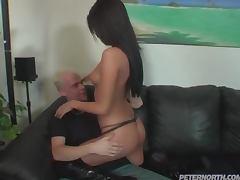 Intense Anal Scene With A Slutty Brunette
