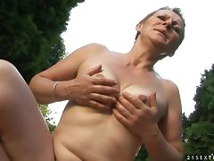Rural Passion with an Outdoorsy and Kinky Grandmother