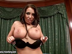 Candy Strong Is A Hot Secretary Pleasing Herself tube porn video