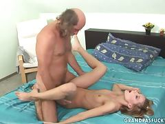 Old Man, Couple, Old, Old Man, Pussy, Missionary