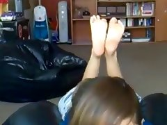 I love feet tube porn video