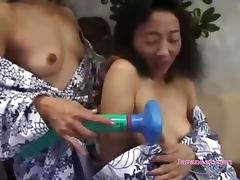 Chinese, Asian, Chinese, Cute, Desk, Granny