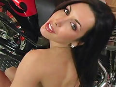 Biker, Babe, Biker, Boobs, Brunette, Erotic