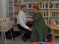 German fat older lady get fucked hard tube porn video
