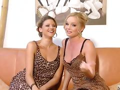 Monica Sweetheart and Silvia Saint taste each other's cunts porn tube video