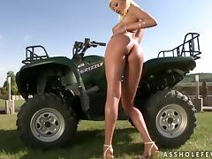 Big tittied Trisha loves to have sex outdoors