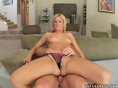 Lusty and busty blond honey Fayth gets drilled