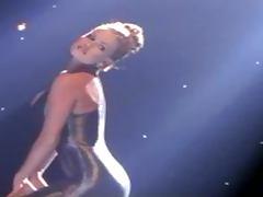 Curvy blonde Neriah Davis poses for the cam in black lingerie