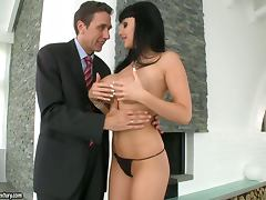 Slutty Slut Aletta Ocean Eager To Start with The Hardcore Anal Action