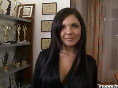Henessy S lets Rocco Siffredi fuck her nice tight asshole porn tube video