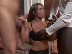 sexy susi in threesome action