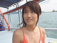 Boat, Big Tits, Boat, Fingering, Hairy, Japanese