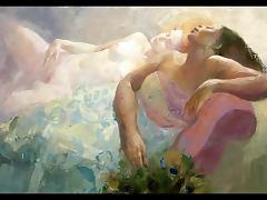 Sensual Erotic Paintings of Emilia Castaneda