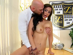 Johnny Sins is penetrating curly nurse Valerie Kay