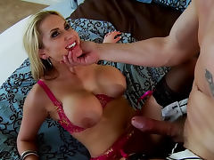 Blonde Alanah Rae being drilled in her puss by Mark Ashley porn tube video