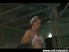 Tatjana in a crazy public sex show