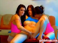 Hot Russian Teens on a webcam show