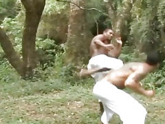 Muscle Guys Fucking in the Forest