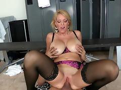 Milf Charlee Chase sucks dick of Xander Corvus tube porn video